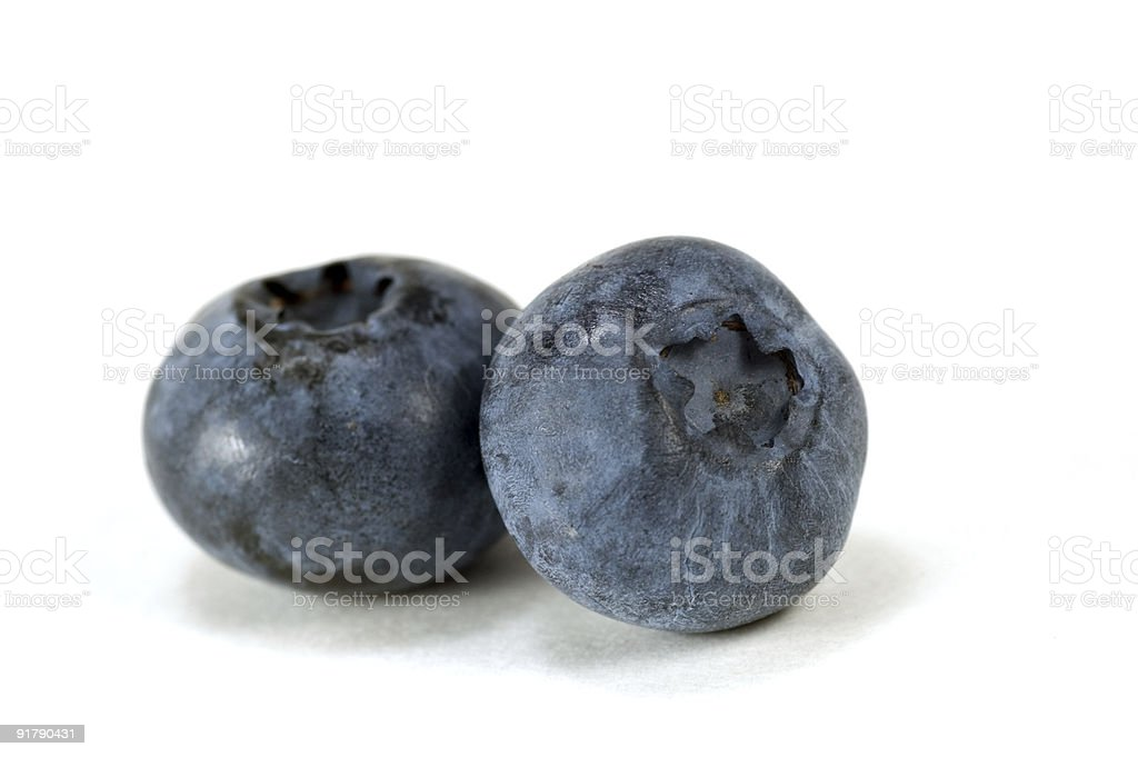 Blueberries macro royalty-free stock photo