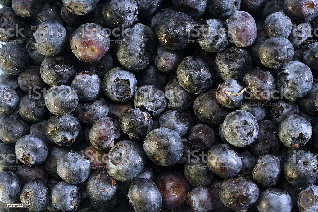 Blueberry background wallpaper stock photo