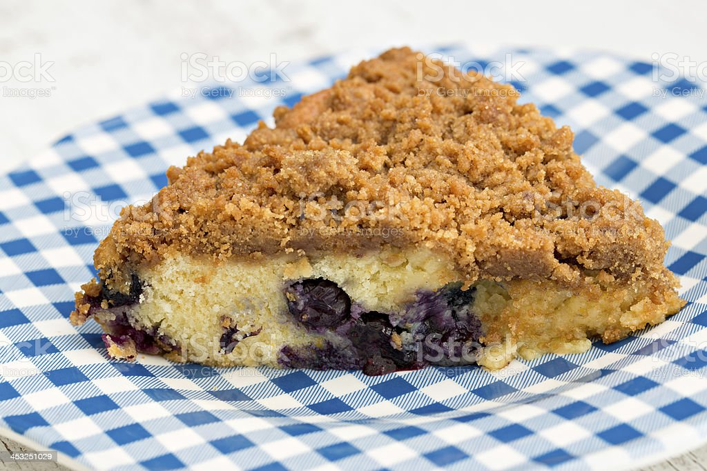 Blueberry Buckle stock photo