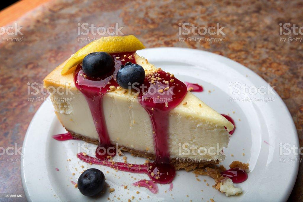 Blueberry Cheese Cake stock photo