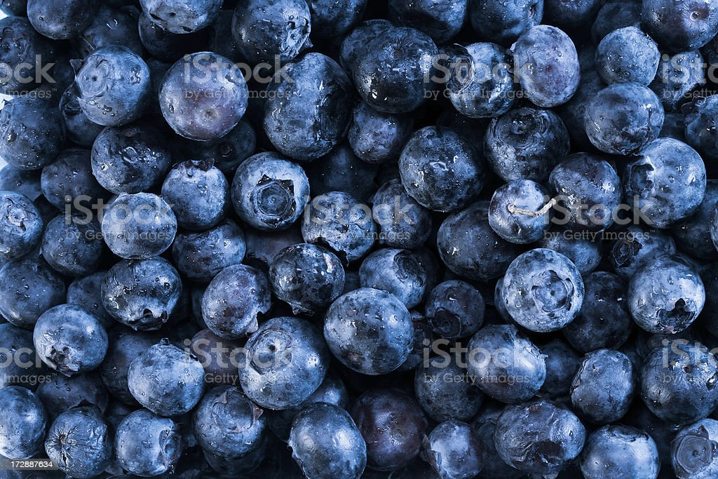 Blueberry fruit wallpaper Tinted royalty-free stock photo