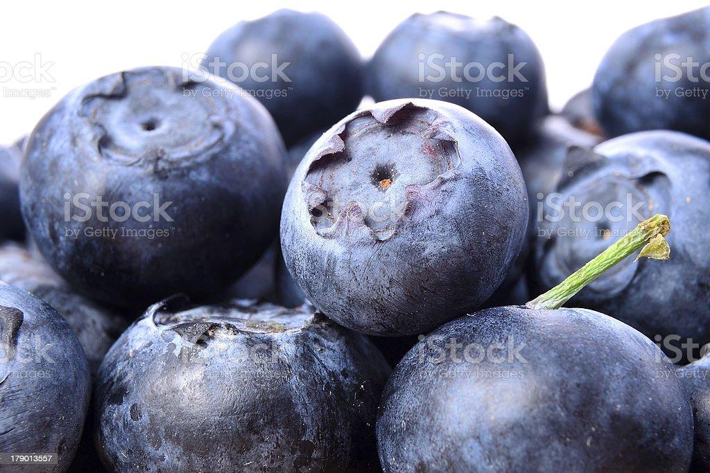 blueberry fruits royalty-free stock photo