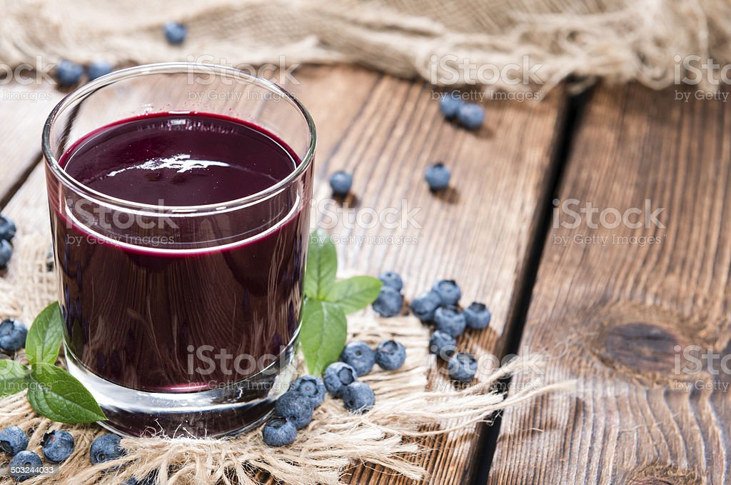 Blueberry Juice stock photo