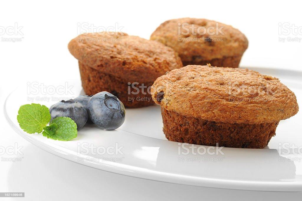 Blueberry Maffins royalty-free stock photo