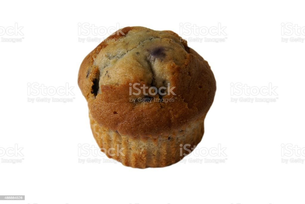 blueberry muffin. cake stock photo
