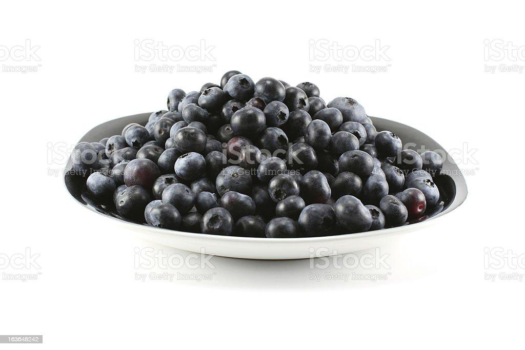 Blueberry royalty-free stock photo