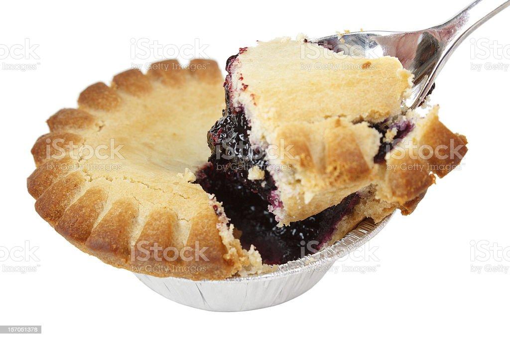Blueberry pie royalty-free stock photo
