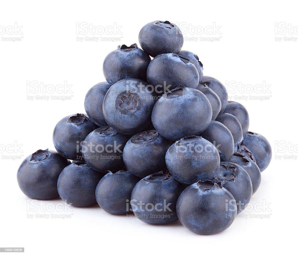 blueberry pyramid royalty-free stock photo
