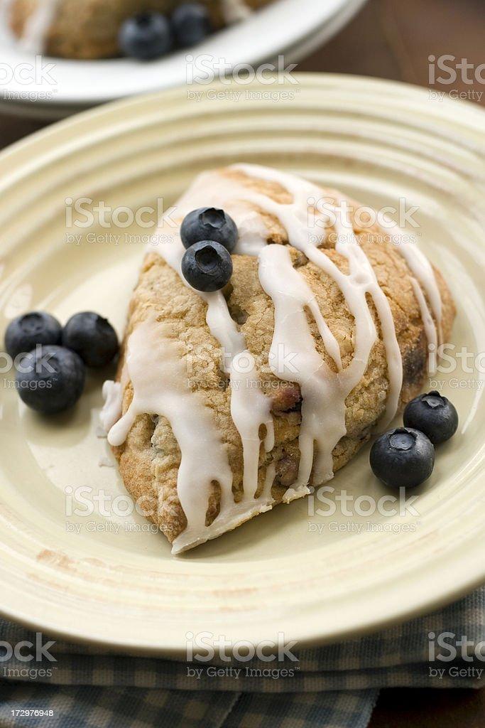 Blueberry Scone royalty-free stock photo