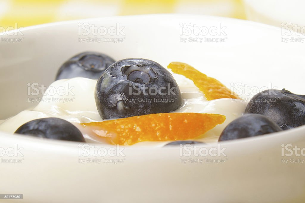 Blueberry Snack royalty-free stock photo