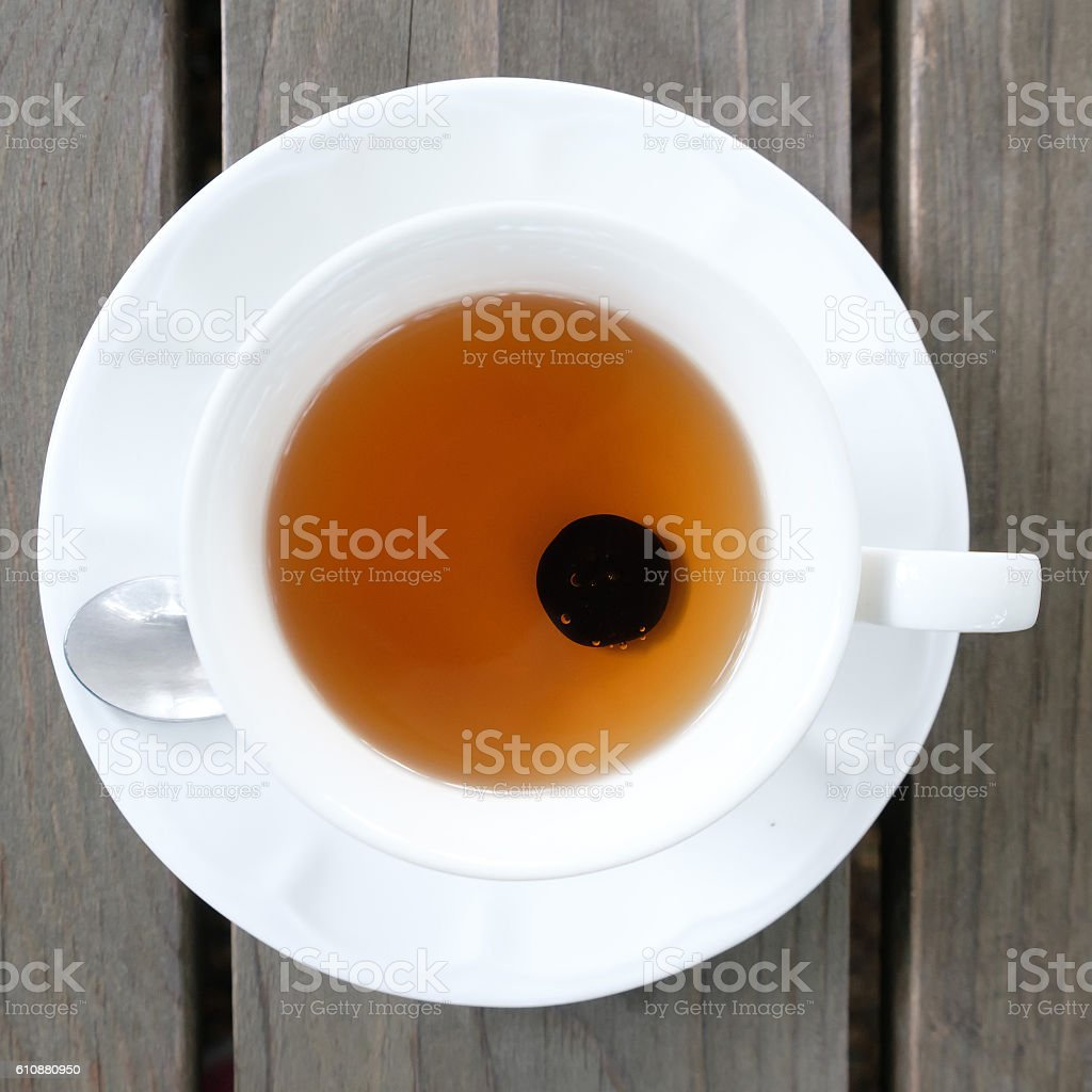 Blueberry tea, blueberry punch stock photo