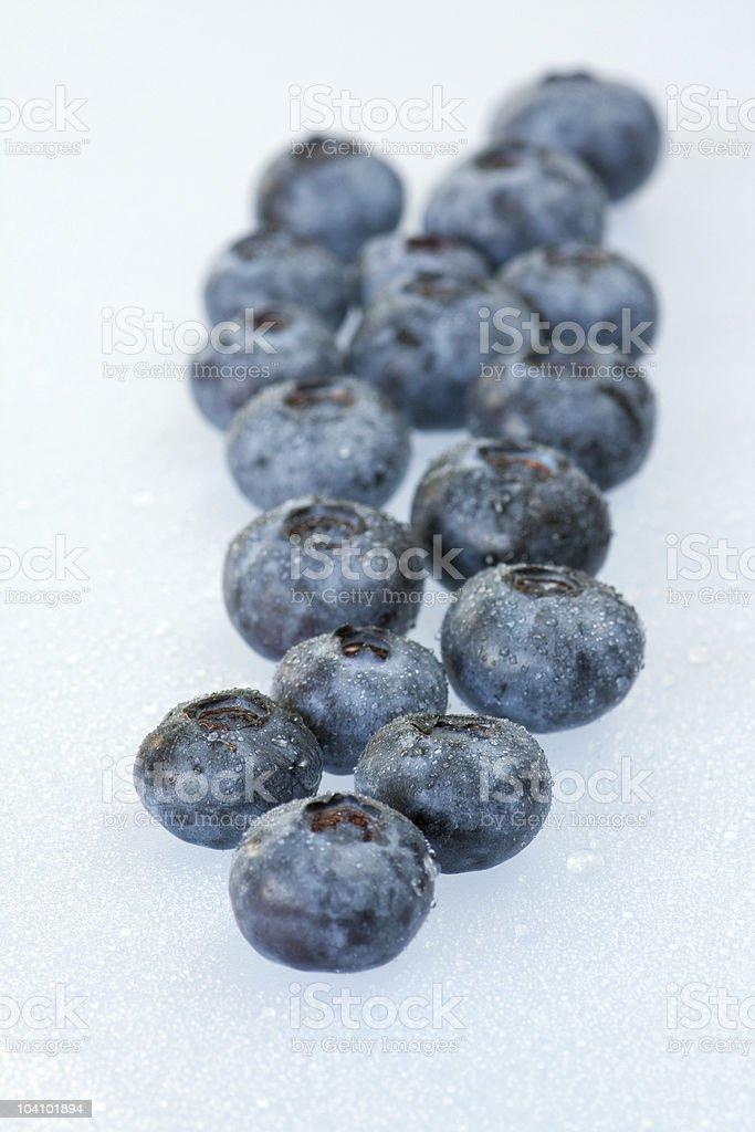 blueberrys royalty-free stock photo