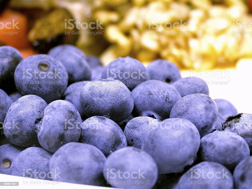 BlueBlueBerry royalty-free stock photo