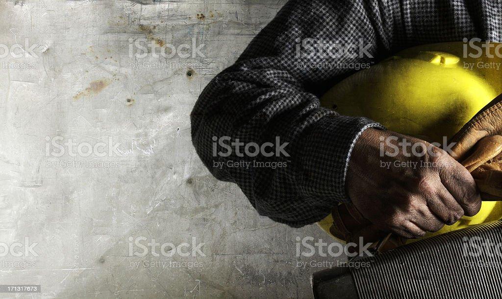 Bluecollar Worker royalty-free stock photo