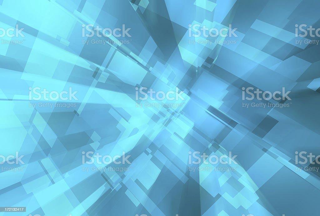 Bluecu 02 royalty-free stock photo