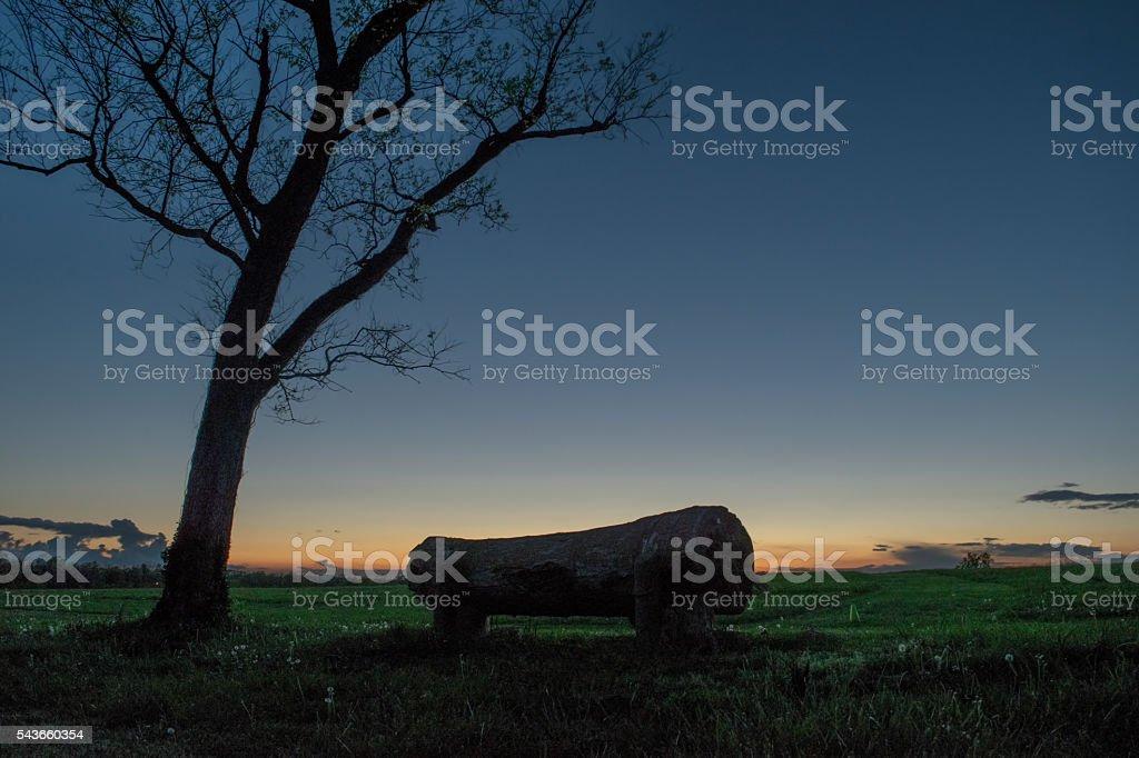 Bluegrass Sunset stock photo