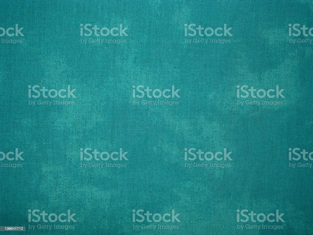 Blue-Green Fabric Background stock photo