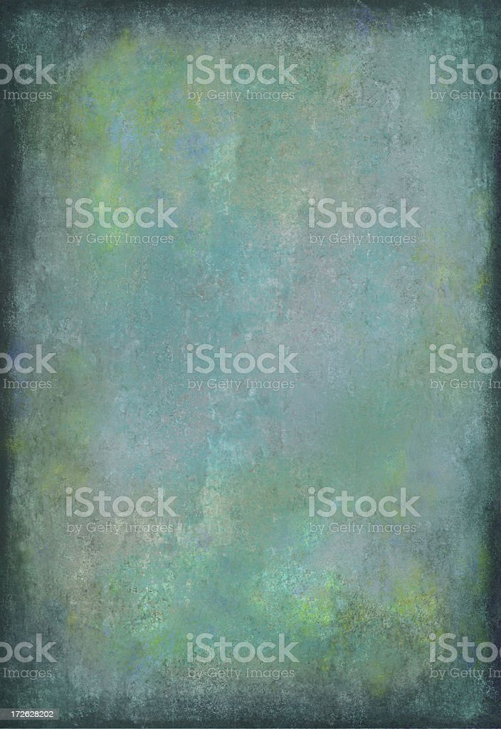 BlueGreen Grunge Background royalty-free stock photo
