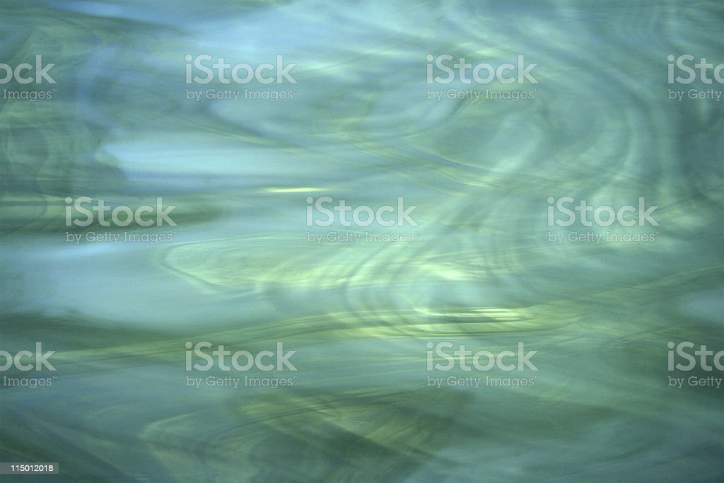 Blue/Green Stained Glass royalty-free stock photo