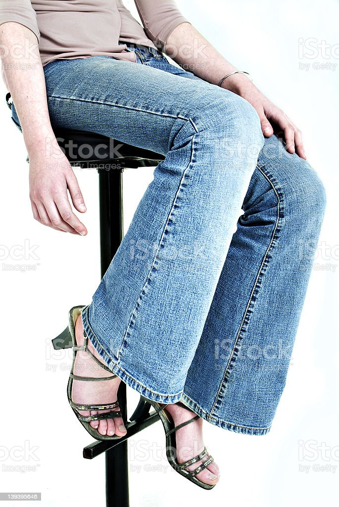Bluejeans royalty-free stock photo