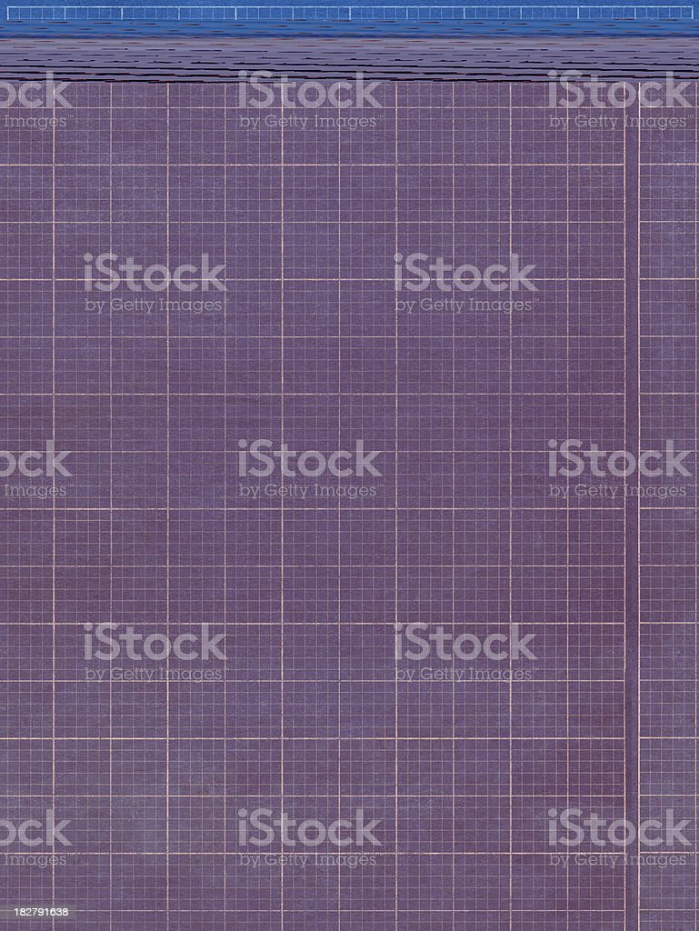 blueprint graph paper stock photo