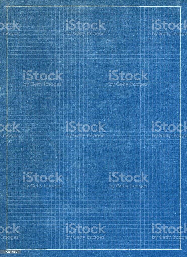 blueprint grid paper stock photo