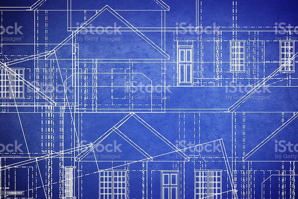 blueprint grunge royalty-free stock photo