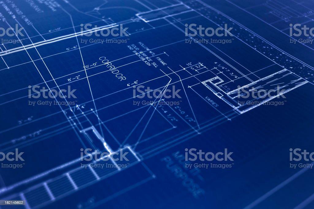 blueprint1 royalty-free stock photo