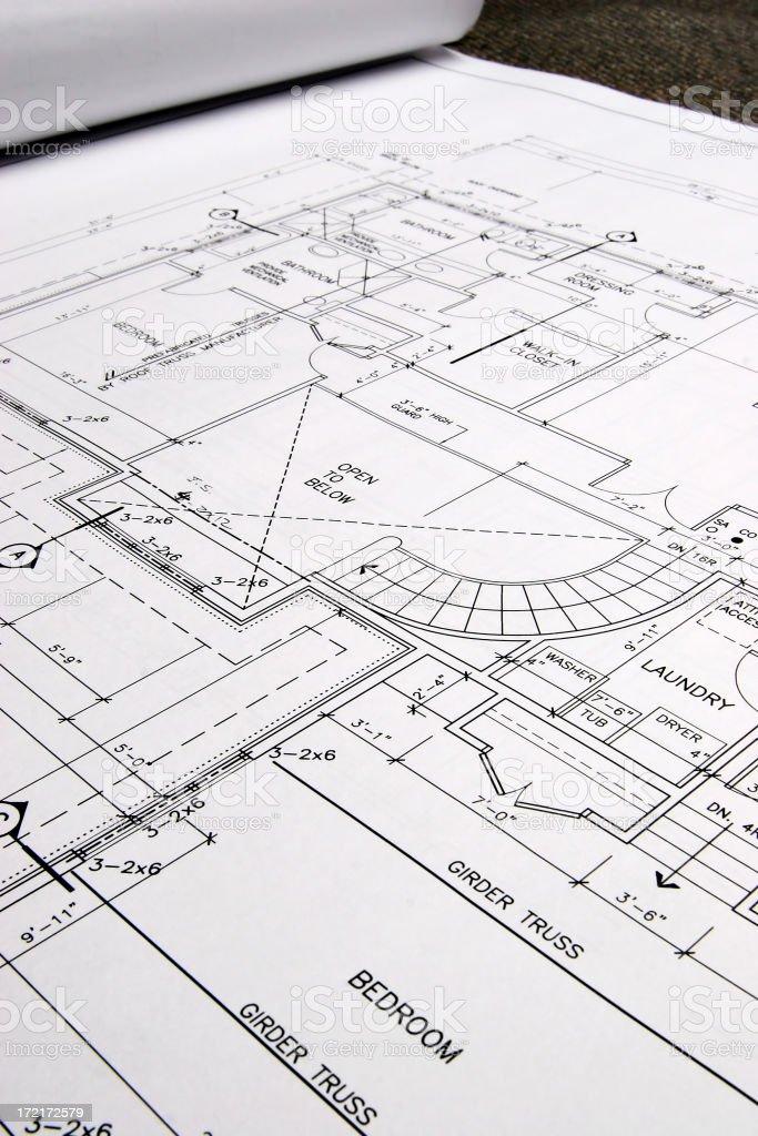 Blueprints -03 royalty-free stock photo