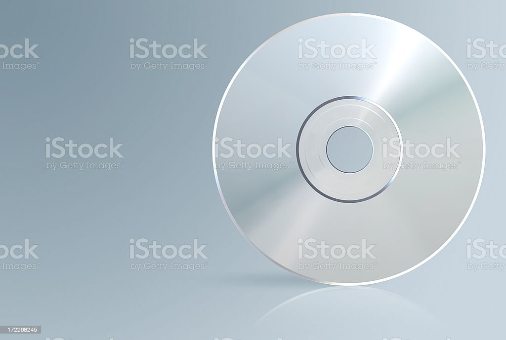 blueray/cd/dvd/hddvd media (with path) stock photo
