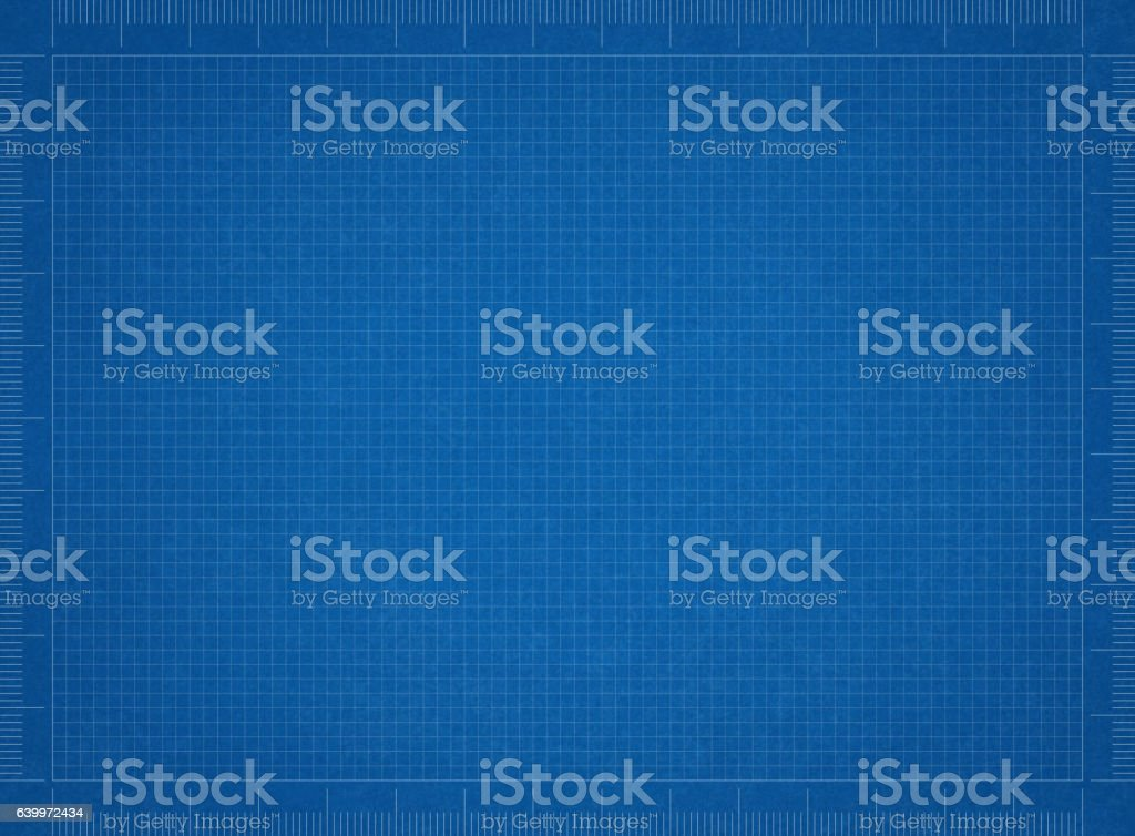 Bluerint paper stock photo
