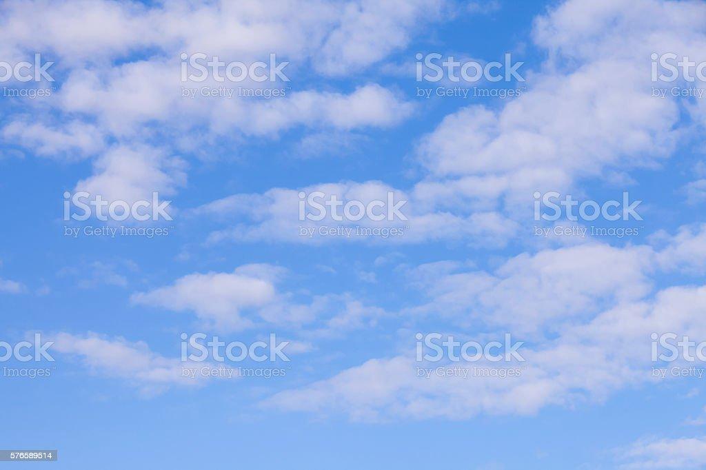 bluesky clouds background. stock photo