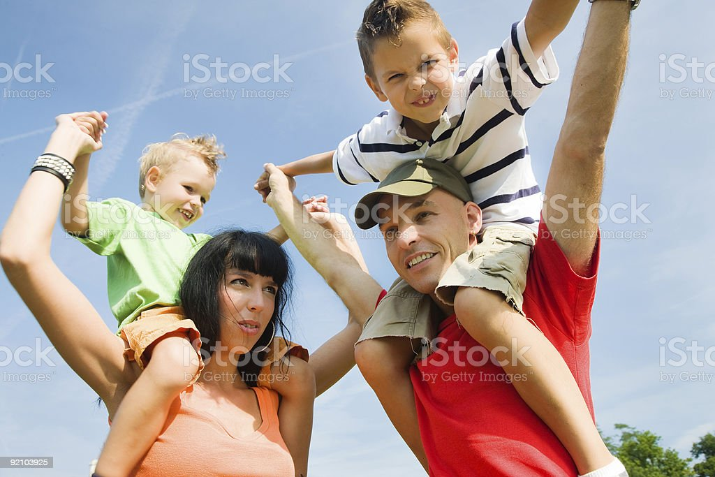 Bluesky Piggyback royalty-free stock photo