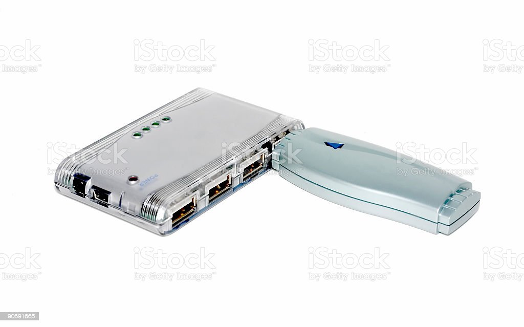 bluetooth and usb royalty-free stock photo