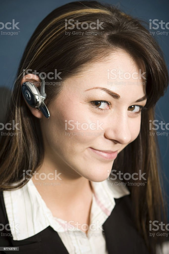 Bluetooth Business royalty-free stock photo