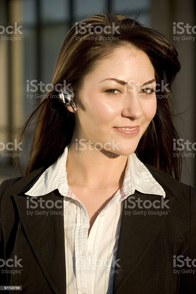 Bluetooth Executive royalty-free stock photo