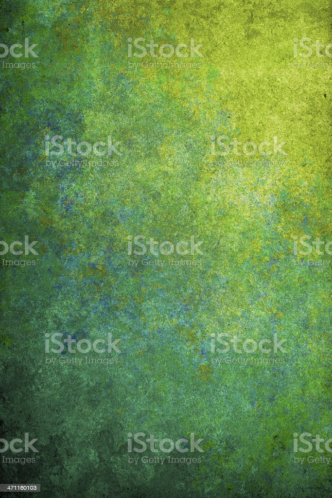 blue-yellow grunge texture stock photo