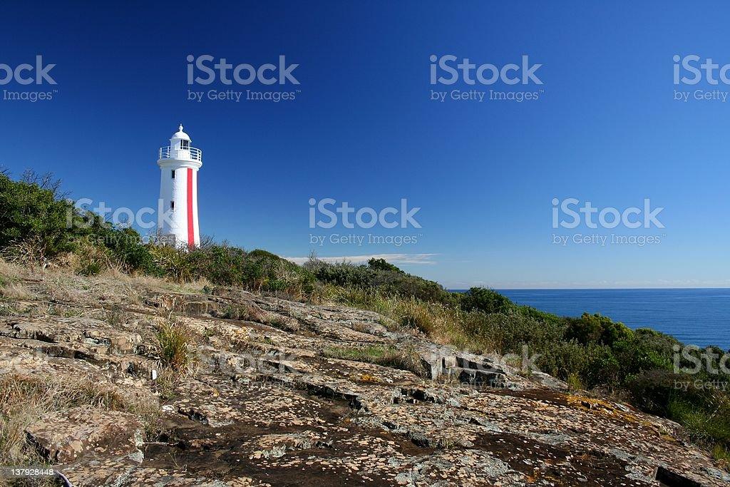 Bluff lighthouse stock photo
