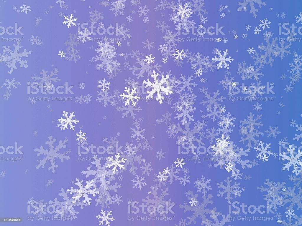 Bluish Flakes royalty-free stock photo