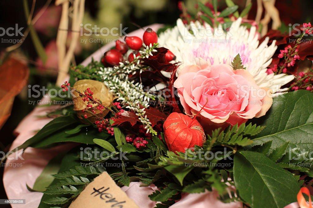 Blumenstrauss stock photo
