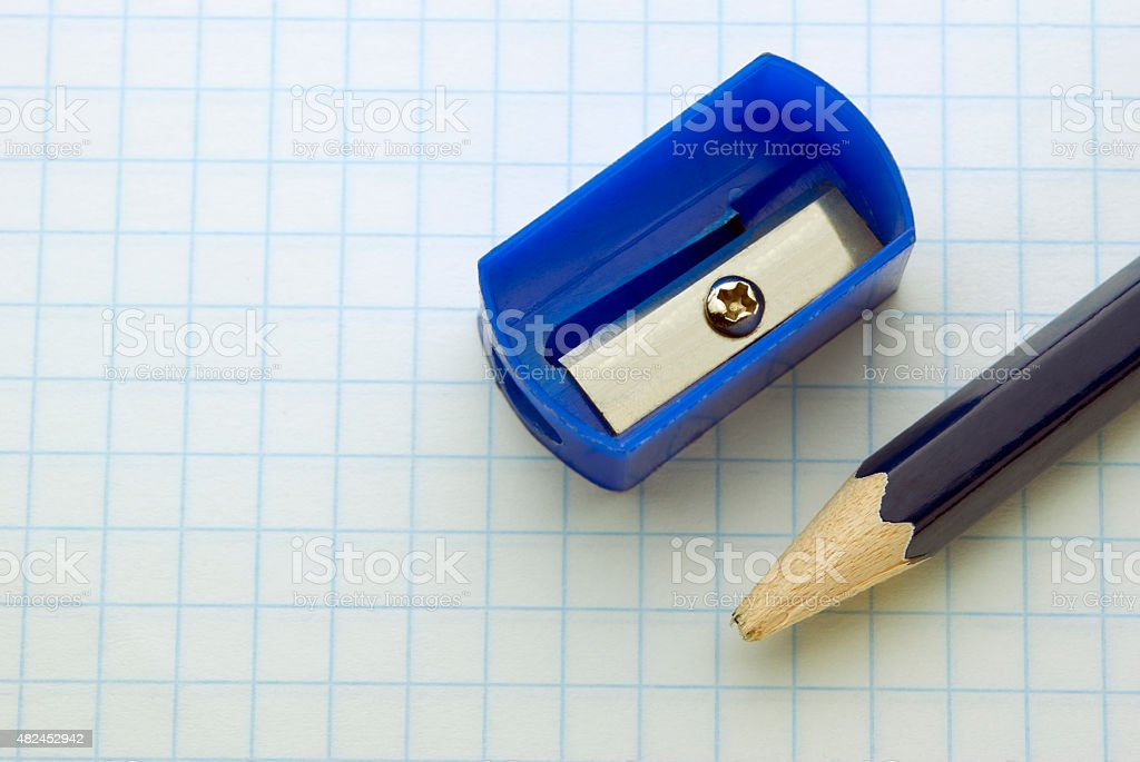 blunt pencil royalty-free stock photo