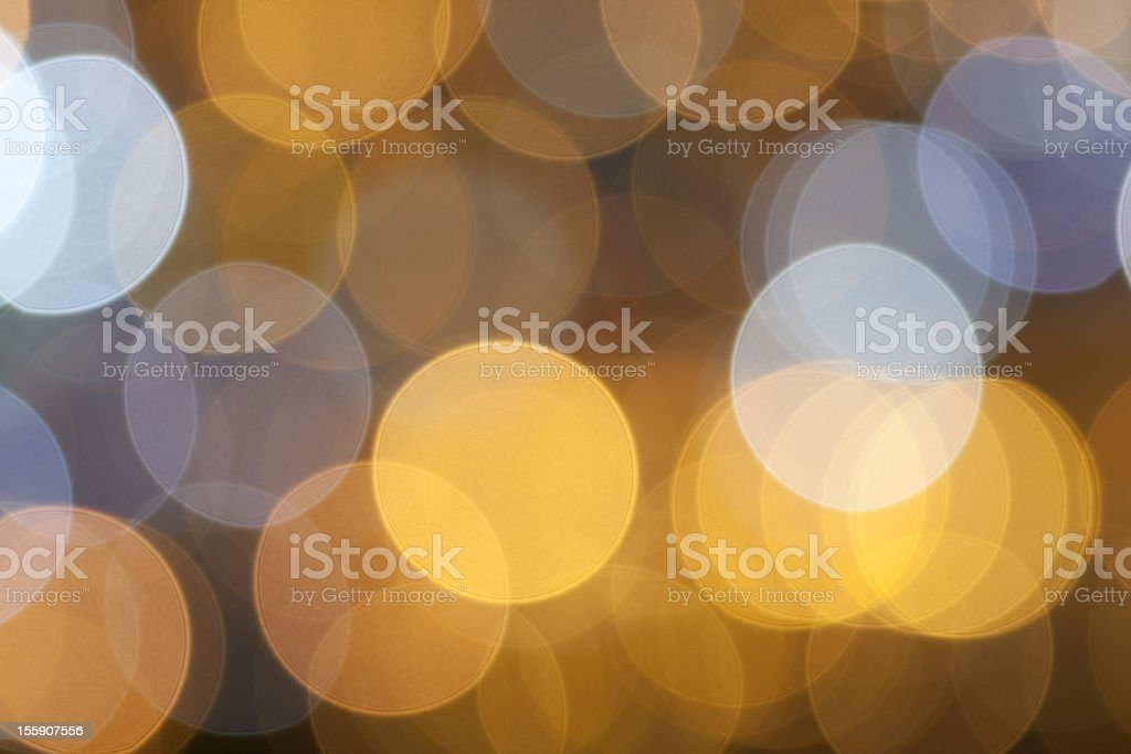 Blur abstract Christmas lights. royalty-free stock photo
