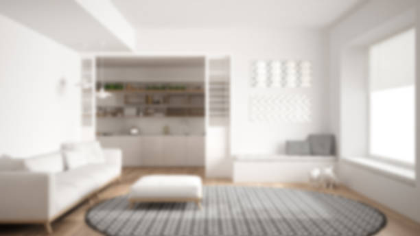 Wooden Cupboard And Blurred Living Room Background Pictures Images Stock Photos