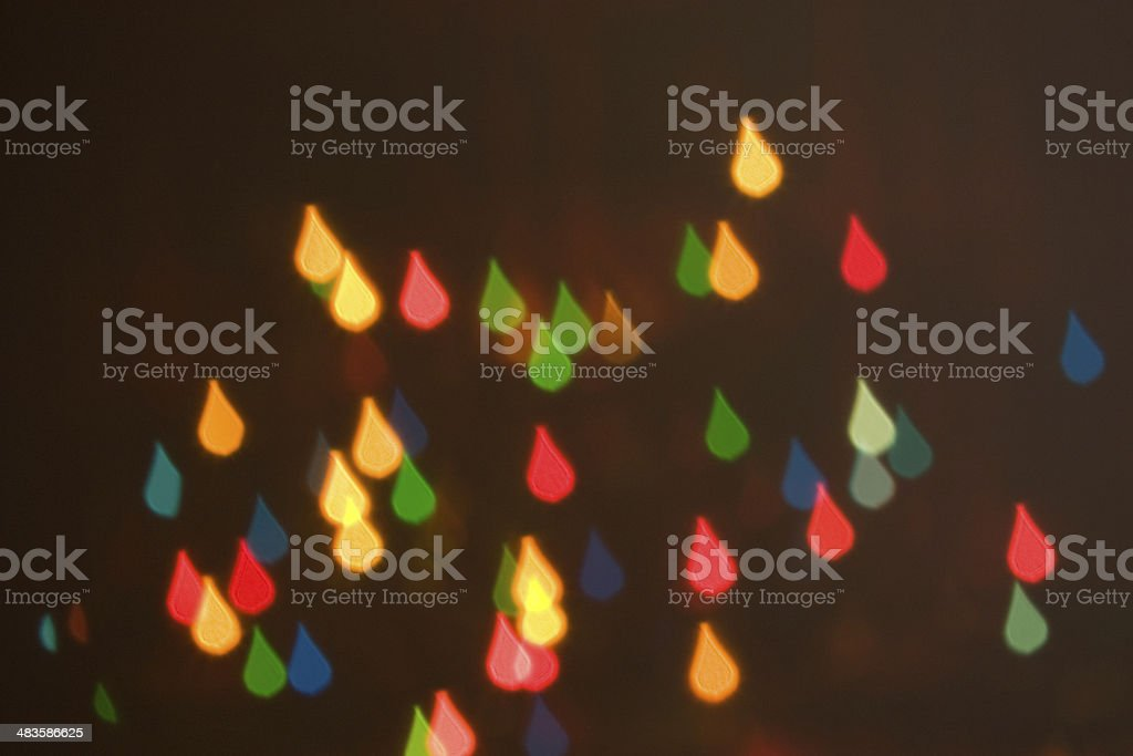 blur effect the form of droplets stock photo