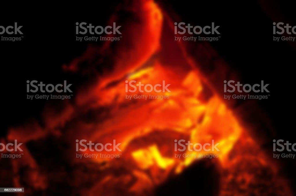 blur fire background stock photo
