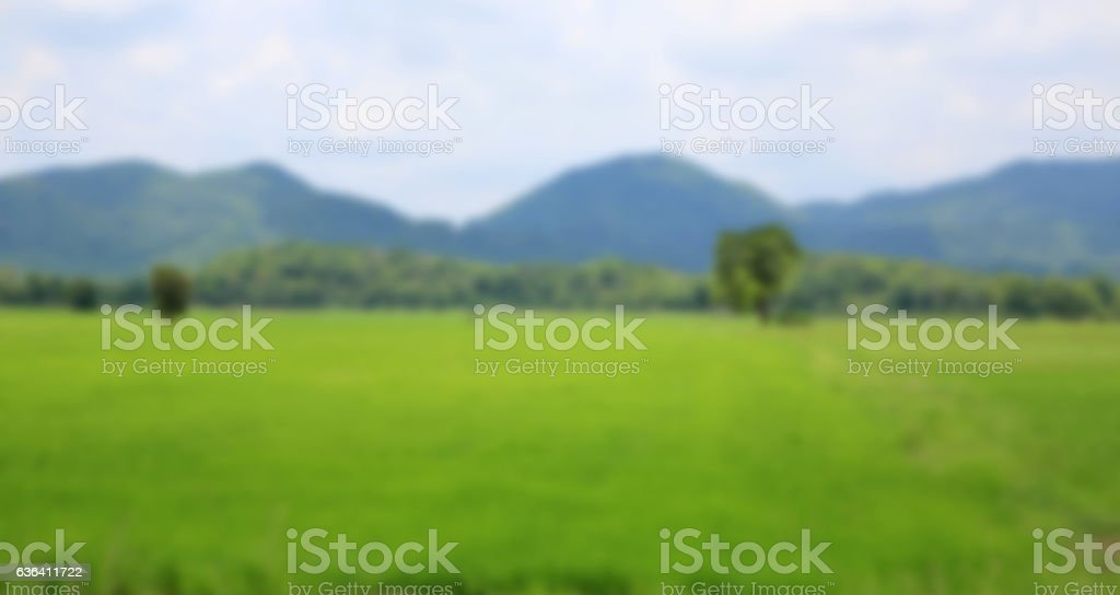 Blur Natural landscape stock photo