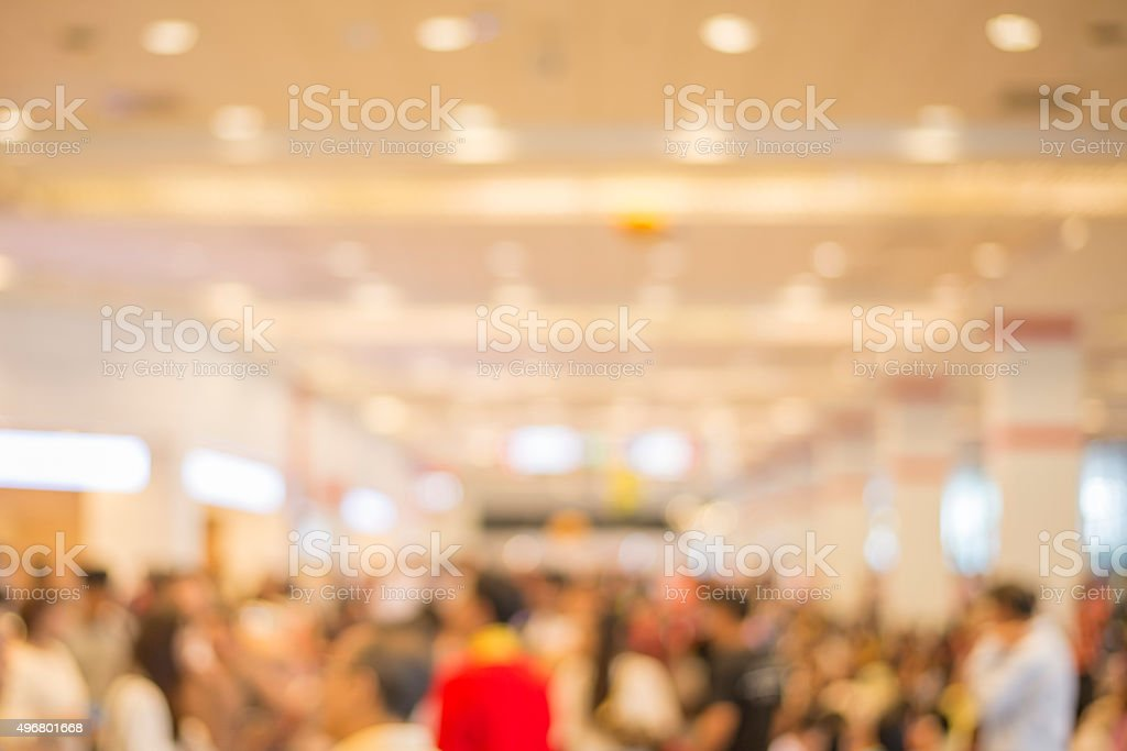 blur of hall background stock photo