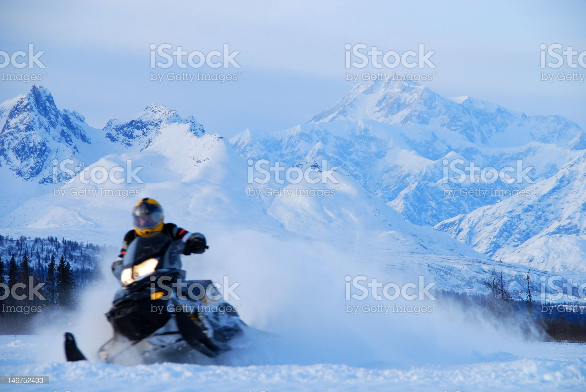 Blur of Speed royalty-free stock photo