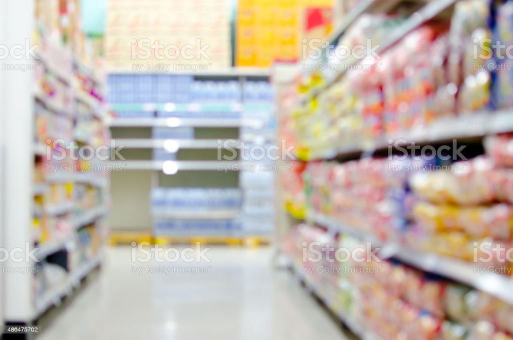 blur shopping background stock photo
