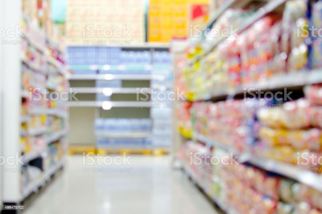 blur shopping background stock photo